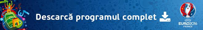 Descarca programul complet Euro 2016