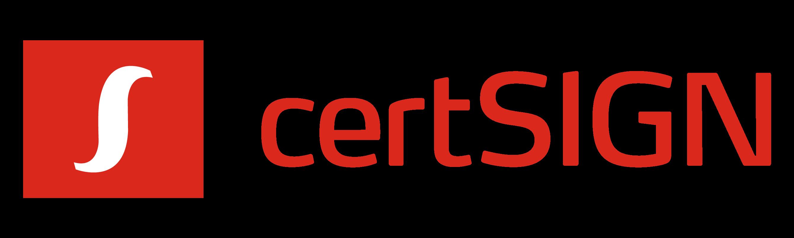 Logo certSIGN-2020