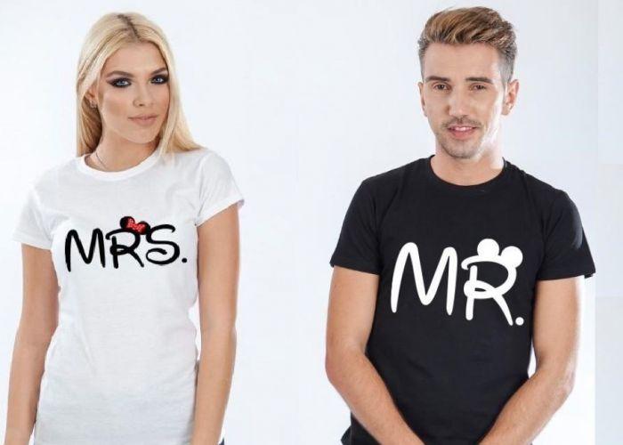 (P) Tricourile personalizate pentru cupluri ndash; cadouri aniversare de neuitat