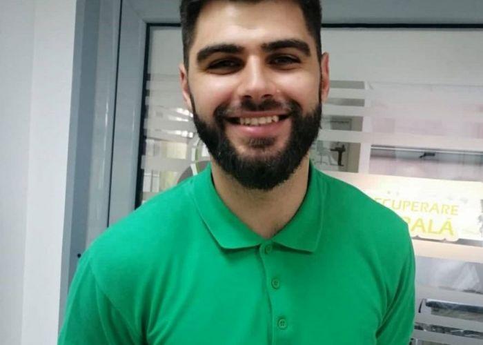 Bogdan Constantinescu, kinetoterapeut:  Sportul influențează starea de sănătate și personalitatea unui om
