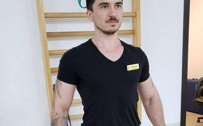 Bogdan Patrașcu, Kinetoterapeut:  Sportul este cel mai facil mod de prevenire a unui număr mare de afecțiuni