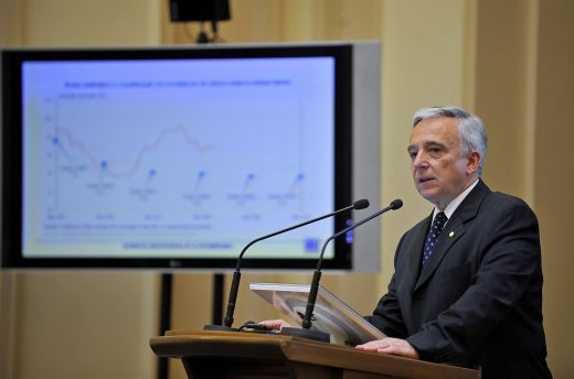 Rata inflatiei a coborat la 4,74% in 2009, dar BNR a ratat tinta pentru al treilea an consecutiv