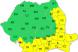Cod galben de canicula in sudul si estul Romaniei. VIDEO