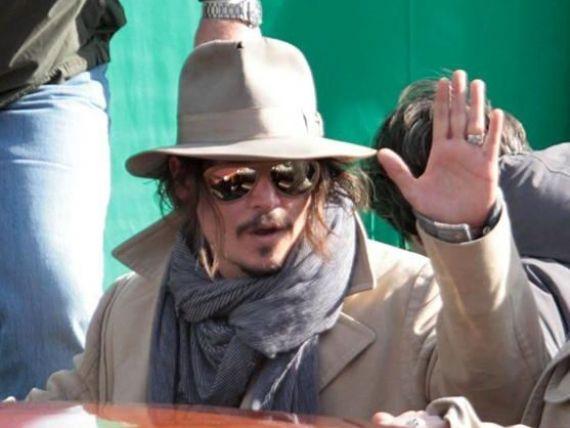 Johnny Depp a dat 10 milioane euro pe un palat venetian