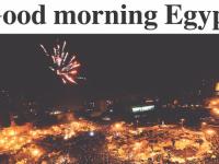"""De la """"Hosni Mu Bye-Bye"""", la """"Sfinxul s-a spart""""! Cum a aratat prima pagina a ziarelor dupa demisia lui Mubarak! FOTO"""