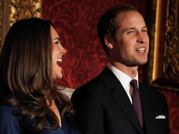 Rochia cu care Kate Middleton l-a cucerit pe printul William, scoasa la licitatie pentru 9.500 de euro!