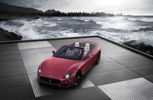 Luxul sportiv: Maserati GranCabrio Sport parcheaza in forta la Geneva! GALERIE FOTO