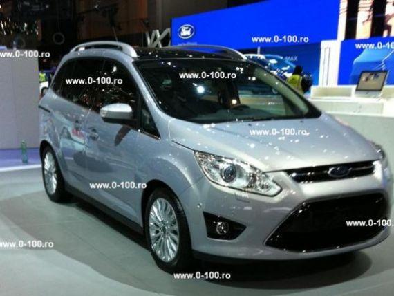 Ford arata la Geneva masina pe care o va produce la Craiova, iar Dacia, monovolumul