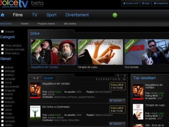 Operatorul Romtelecom lanseaza un portal multimedia. Cat costa sa vezi un film?