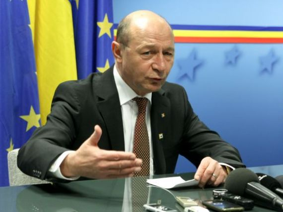 Basescu: Subiectul privind premierul tehnocrat va fi reluat cand va fi cazul, acum Romania are premier