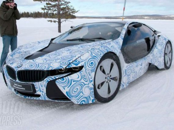 BMW pregateste la Munchen revolutia masinilor sport electrice - noul i8. GALERIE FOTO