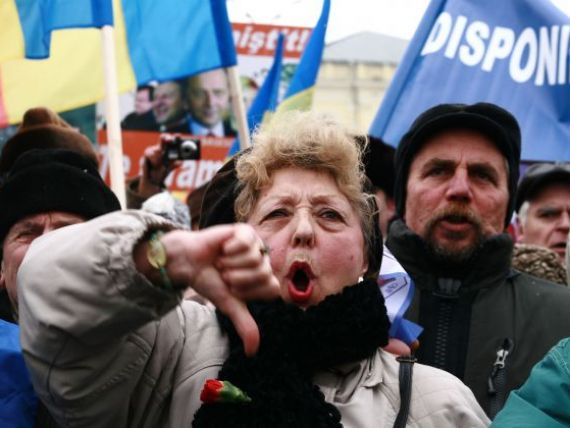 Sindicalistii blocheaza astazi Capitala. Vezi HARTA cu strazile inchise