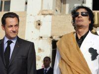 Fiul lui Kadhafi sustine ca acesta i-a finantat campania electorala lui Sarkozy, in 2007
