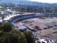 Hotii pun bete in roate Stadionului National: Au sustras 7 TONE de cupru VIDEO