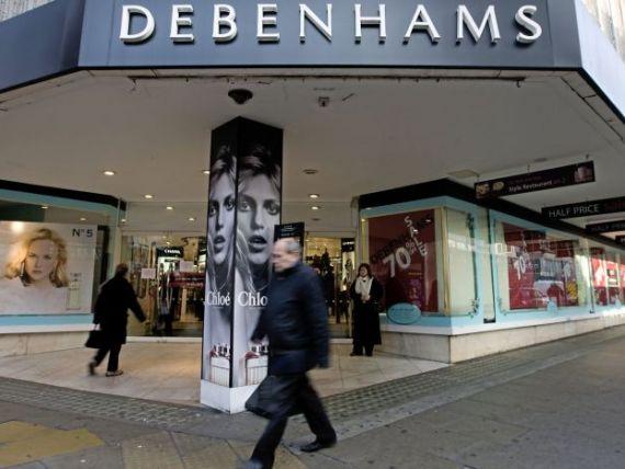 Debenhams si-a vandut sediul din Londra cu 36 de milioane de lire sterline