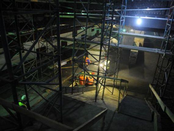 Vedeti aici primele imagini cu tronsonul de metrou 1 Mai ndash; Parc Bazilescu - GALERIE FOTO