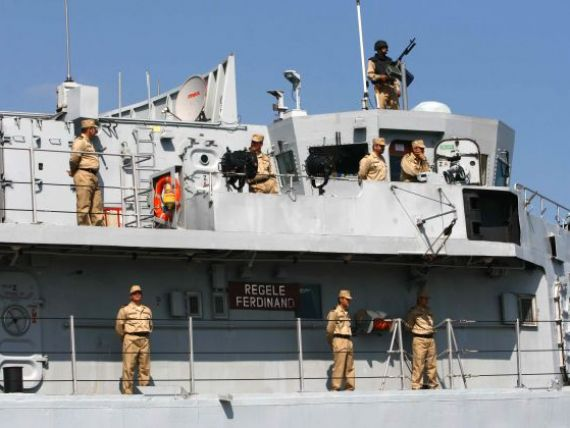 Romania intra in razboiul din Libia: fregata Regele Ferdinand pleaca vineri in misiune