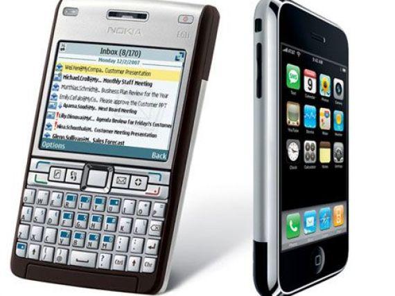 Victorie rara pentru Nokia: Apple ii va plati drepturi pentu ca  i-a imprumutat  unele tehnologii