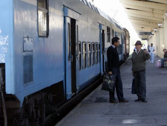 Calatoriile cu trenul si cu metroul se vor scumpi peste rata inflatiei