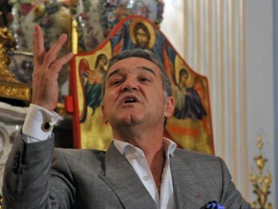 GIGI BECALI, executat de Fisc:  Ce c... Eu conduc Europa, ei conduc Romania. Sunt de cinci ori mai tare decat ei!