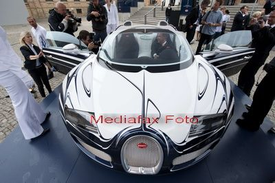 Masina de 1,4 milioane de lire sterline cu finisaje de portelan. GALERIE FOTO