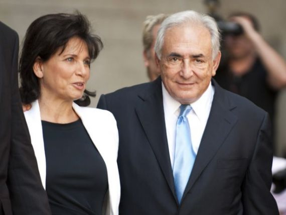 Ce a facut Dominique Strauss-Kahn in prima zi de libertate