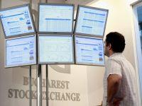 Bursa de la Bucuresti a coborat la cel mai redus nivel din ultimii doi ani si noua luni