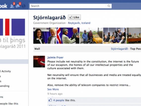 Statul care isi schimba Constitutia pe Facebook