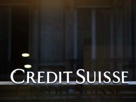 Credit Suisse, investigata pentru evaziune fiscala