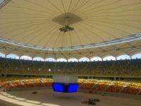 "<span style=""color: rgb(255, 0, 0);"">FOTO.</span> Asa arata acum National Arena acoperit complet. Vezi super imagini cu TABELA in forma de CUB"
