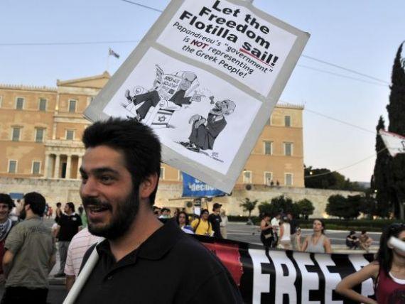 Risipa greceasca: 40% dintre tineri sunt someri. Parlamentarii beneficieaza de mai multe facilitati decat ministrii germani