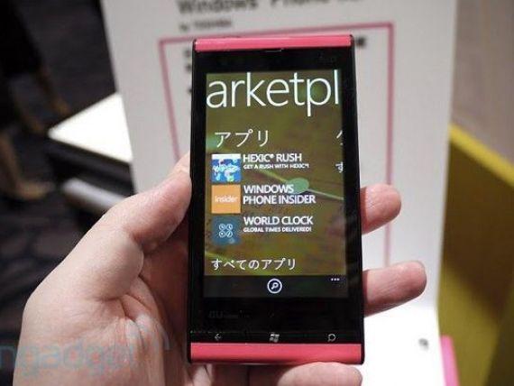 A aparut primul telefon cu Windows Phone Mango