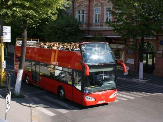 Bucurestiul, mai aproape de capitalele europene. De astazi, avem autobuze turistice supraetajate