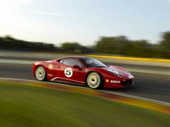 Forza Rossa a livrat in Romania primul Ferrari care nu are voie sa circule pe drumurile publice