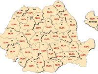 Harta banilor din Romania, pe judete. Cat primeste inapoi judetul tau din impozitele platite statului