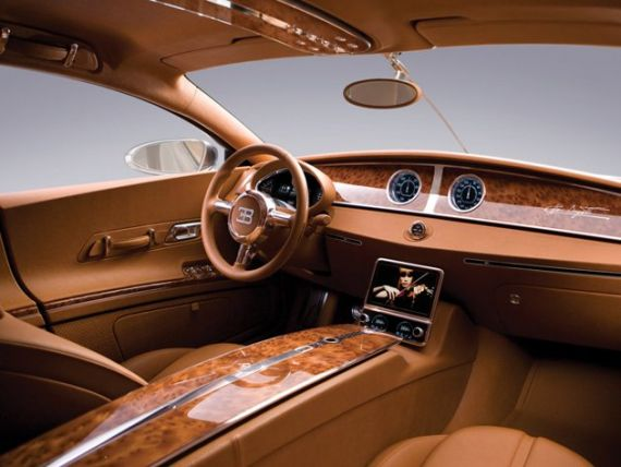 Ce urmeaza dupa Veyron? Cum arata sedanul de 1,4 mil. dolari de la Bugatti GALERIE FOTO