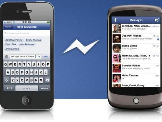 Facebook lanseaza o aplicatie de messenger pentru telefoane mobile