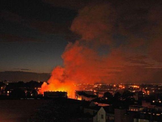 Londra arde, Europa se prabuseste!  Coperta si deschiderea revistei Time socheaza
