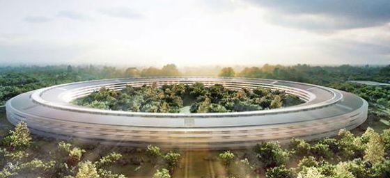 Cum arata noul sediu OZN al Apple de 260.000 de metri patrati GALERIE FOTO