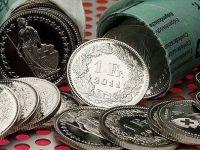 A doua cadere consecutiva a francului in fata leului. Moneda elvetiana a pierdut peste 9 bani