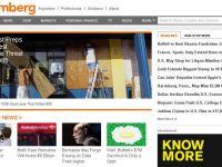 Tranzactie pe piata media: Bloomberg cumpara un site de stiri pentru 990 de milioane de dolari