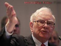 Cum a facut Buffet profit de 280 de milioane de dolari in doar 24 de ore. I-a venit ideea in timp ce facea baie