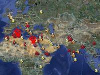 Harta revoltelor provocate in lume de cresterea pretului la alimente FOTO