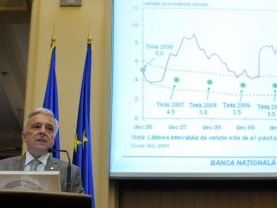 Isarescu: Daca vrei o crestere economica sanatoasa trebuie sa asiguri stabilitatea preturilor