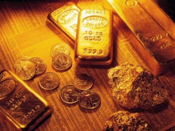 Cea mai mare scadere a pretului aurului din 1983 incoace. Roubini a avut din nou dreptate