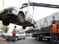 Proiect: Masinile vor fi ridicate numai ca masura exceptionala. Banii vor merge la bugetele locale, interzis la firme
