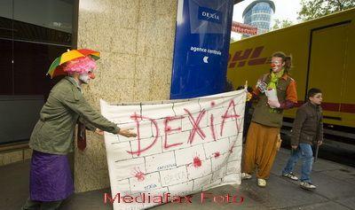 Operatie franco-belgiana de divizare pe cord financiar. Activele  toxice  ale grupului bancar Dexia, separate de cele  sanatoase