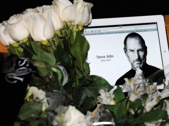 Tribut pentru parintele iGadgeturilor. CEO-ul Apple:  Am pierdut un vizionar si un creator de geniu, iar lumea a pierdut o fiinta incredibila  GALERIE FOTO
