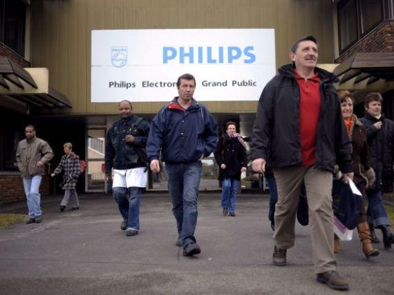 Philips ar putea trimite in somaj mii de persoane. De ce miscare a olandezilor depind 4.500 de angajati
