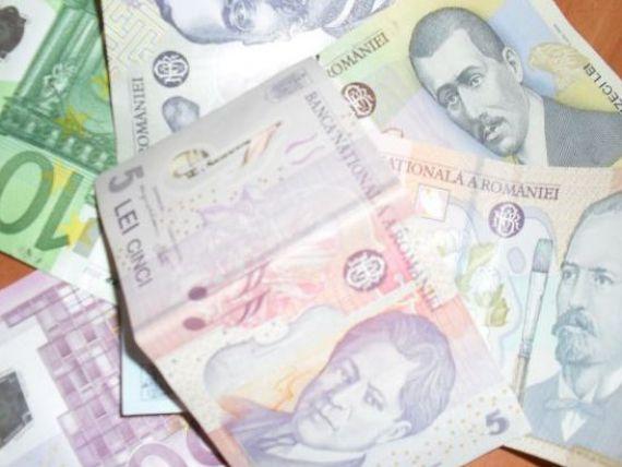 Doua banci au imprumutat peste un miliard de lei de la BNR, pentru a-i plasa in depozite la Ministerul de Finante